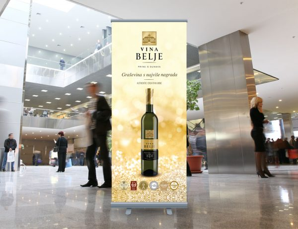 Vina Belje roll-up
