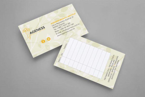 Ageness kartica dolazaka