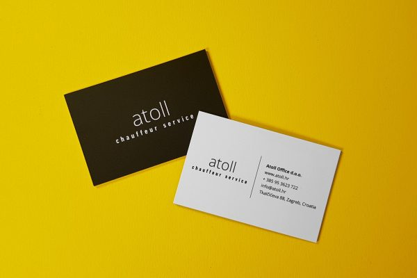 Atoll bussines cards