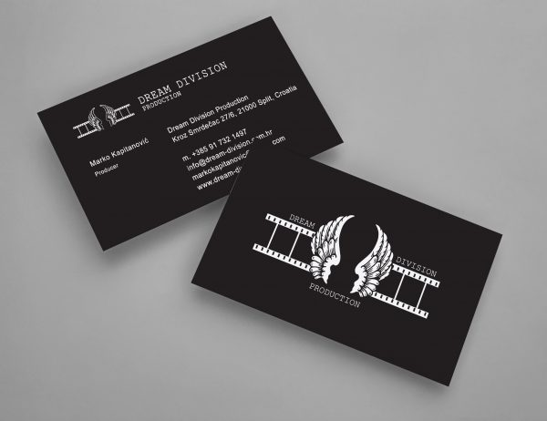 Dream Division Production bussines cards