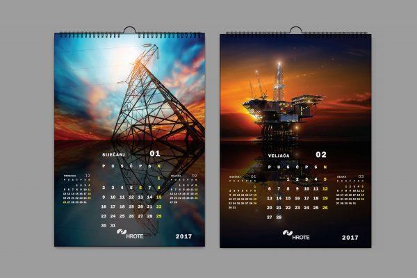 HROTE zidni kalendar 2017