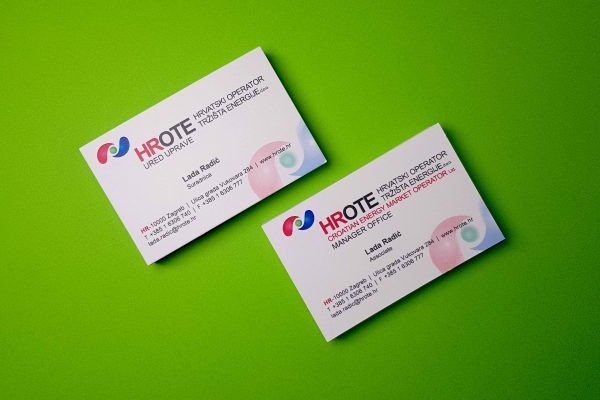 HROTE bussines cards