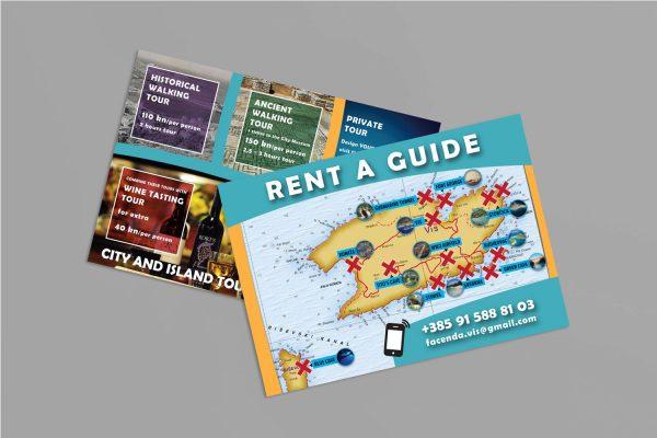 "Karuza letak ""Rent a Guide"""