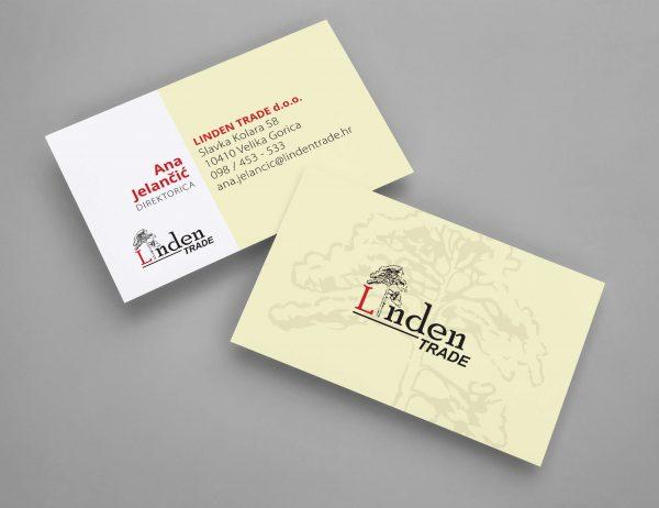Linden Trade posjetnice