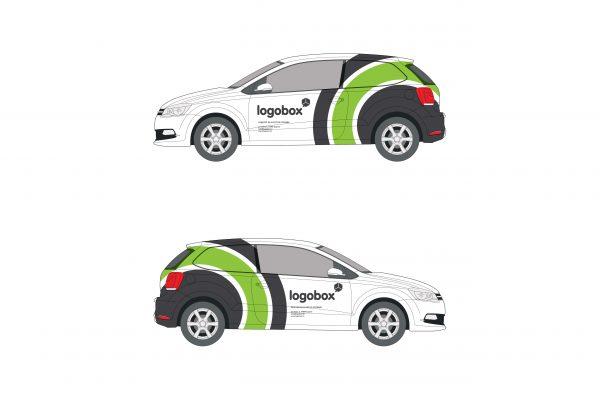 Oslikavanje vozila za Logobox
