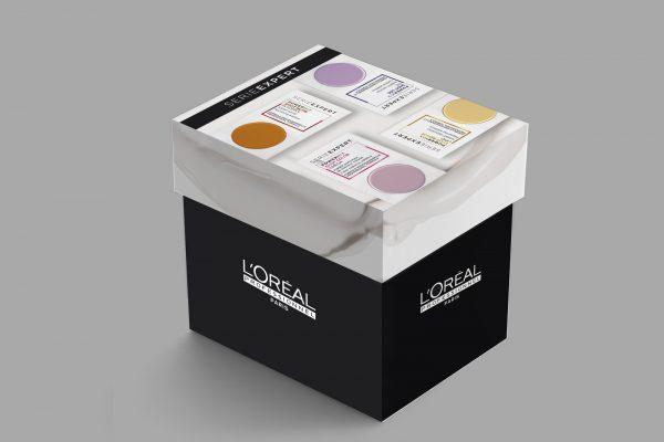 Kutije L'Oréal Professionnel SerieExpert Powermix Shots