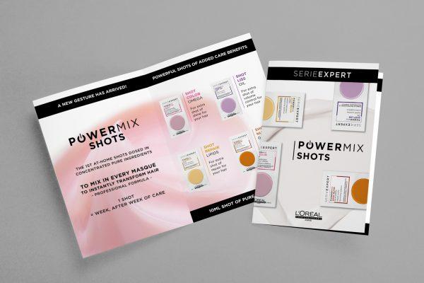 Letak L'Oréal Professionnel SerieExpert Powermix Shots
