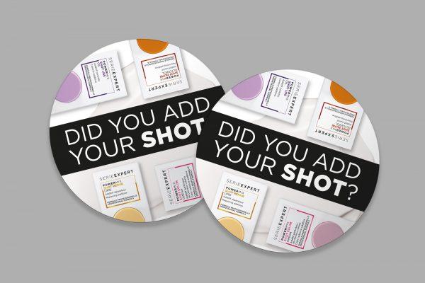Naljepnice za ogledalo L'Oréal Professionnel SerieExpert Powermix Shots