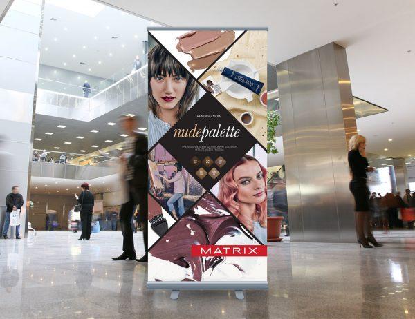 L'Oréal Adria roll-up 'Matrix Socolor'