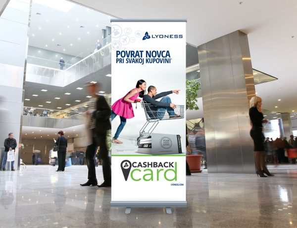 Lyoness roll-up 'Cashback card'
