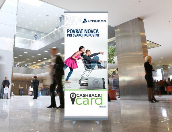 Lyoness roll-up 'Cashback card'