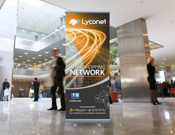 Lyoness roll-up 'Lyconet'