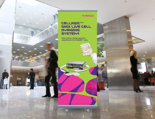 Merck roll-up 'Cellasic'