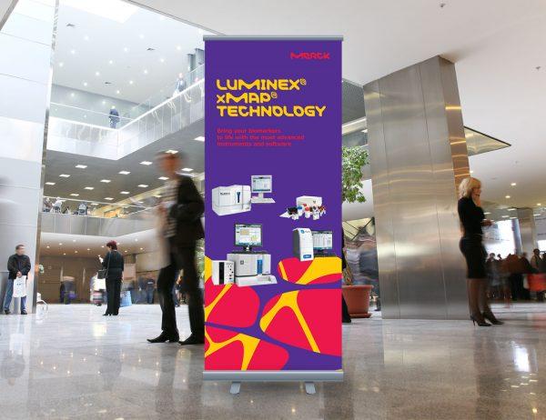 Merck roll-up 'Luminex'
