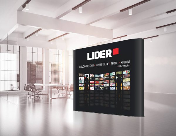 Lider pop up zid