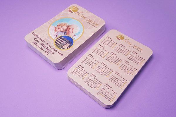 Zlatna jutra džepni kalendari