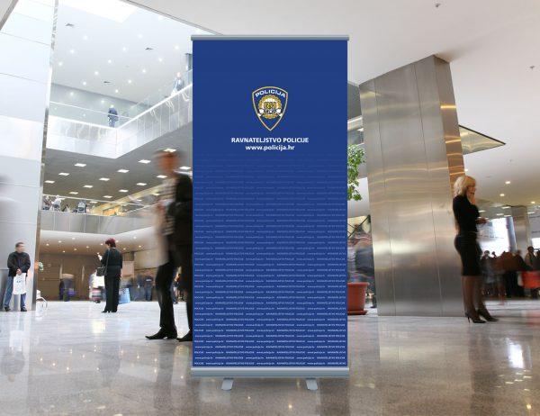 MUP roll-up 'Ravnateljstvo policije'