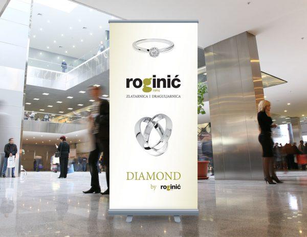Roginić roll-up 'Diamond'