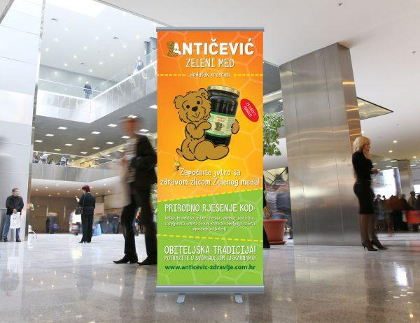Antičević Zeleni med roll-up