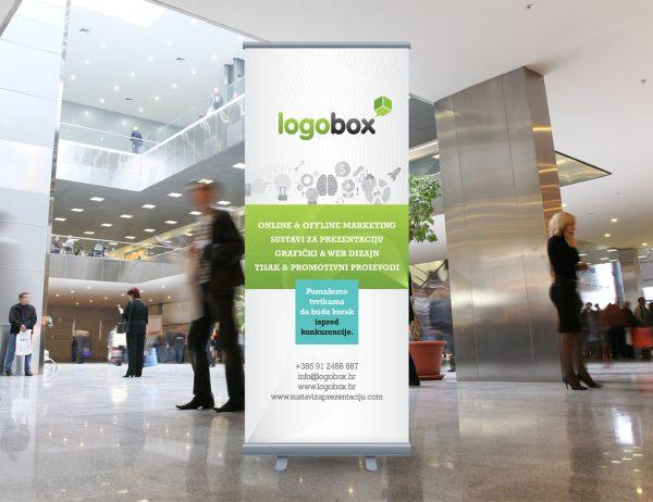 Logobox roll-up
