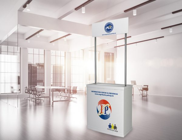 MUP promotivni štand 'Informativni centar za prevenciju'