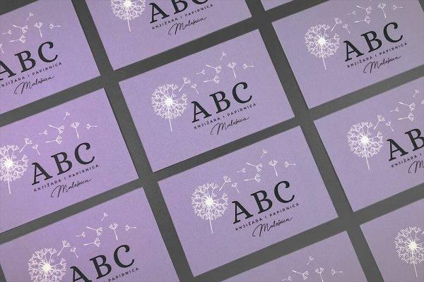 ABC knjižara i papirnica – posjetnice